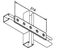 CHANNEL BRACKETS  STRUTS
